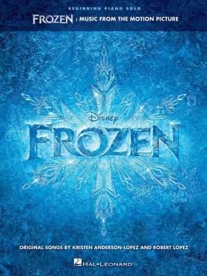 Frozen : Music From The Motion Picture Series - Beginning Piano Solo Songbook (La reine des neiges)