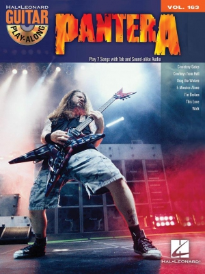 Pantera : Pantera Guitar Play-Along Vol.163 Book/CD