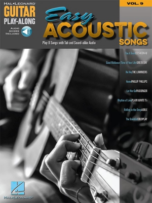Guitar Play-Along Volume 9: Easy Acoustic Songs