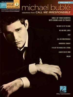 Call Me Irresponsible - Pro Vocal Men'S Edition Vol.61