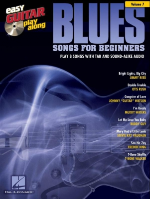 Easy Guitar Play-Along Volume 7: Blues Songs for Beginners