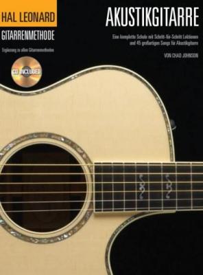 Hal Leonard GitarrenMéthode Für Akustikgitarre