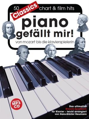Heumann Hans-Günter : Hans-Günter Heumann: Piano Gefällt Mir! Classics (Book/MP3 CD)