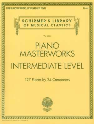 Schirmer's Library Of Musical Classics Volume 2111: Piano Masterworks - Intermediate Level