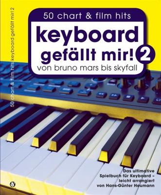 Heumann Hans-Günter : Hans-Günter Heumann: Keyboard Gefällt Mir! - Book 2