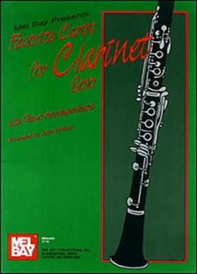 Hollins John : Favorite Carols for Clarinet Solo