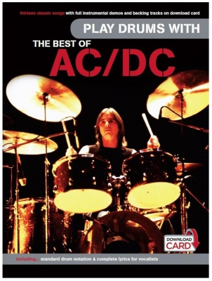Play Drums With The Best Of - Book - Audio Download