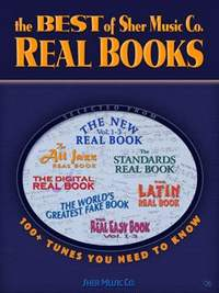 The Best Of Sher Music Co. 'real Books' Bb