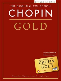 The Essential Collection: Chopin Gold (Book/Audio Download)