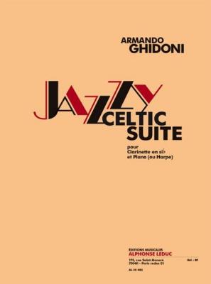 Ghidoni : Jazzy Celtic Suite Pour Clarinette