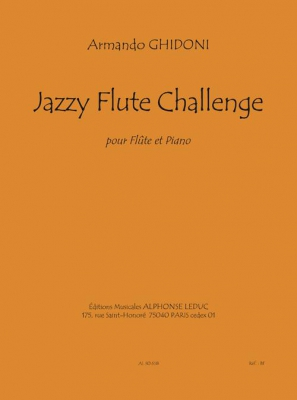 Ghidoni Armando : Jazzy Flute Challenge