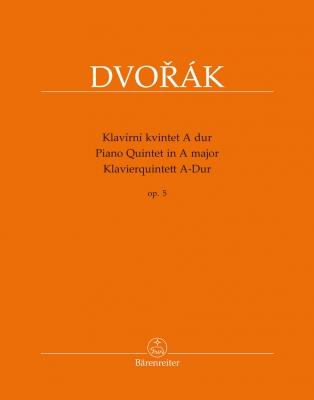 Piano Quintet In A Maj Op. 5