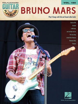 Mars Bruno : Bruno Mars Guitar Play - Along Volume 180