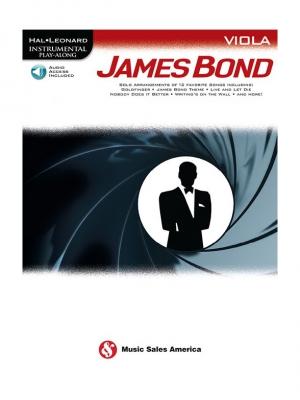 Hal Leonard Instrumental Play-Along: James Bond - Viola (Book/Online Audio)