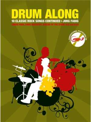 Drum Along : Classic Rock Continued (Book/CD)