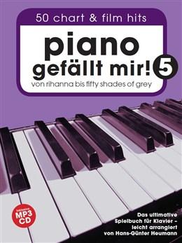 Heumann Hans-Günter : Hans-Günter Heumann: Piano Gefällt Mir! - Book 5 (Spiral-Bound Book/CD)