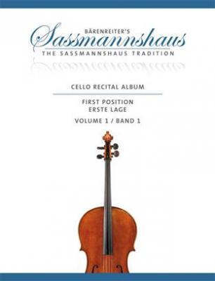 Cello Recital Album, Volume 1 - Epuisé