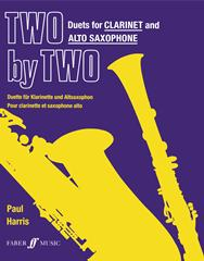 Harris Paul : Two by Two (clarinet and alto sax duets)
