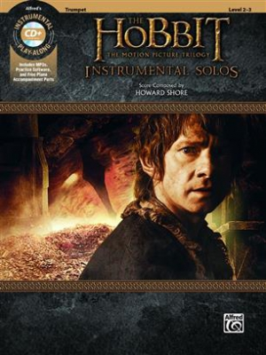 Shore Howard : Hobbit Trilogy Inst Solos TR (with CD)