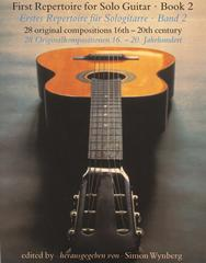 Wynberg Simon : First Repertoire for Guitar Solo Book 2