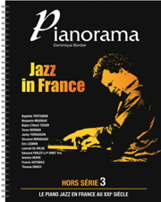 Bordier Dominique : Pianorama Jazz in France, hors-série #3