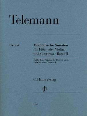 Telemann Georg Philipp : Methodical Sonatas Volume II