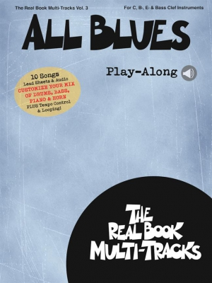 Real Book Multi-Tracks Play-Along Vol 3 - All Blues Play-Along