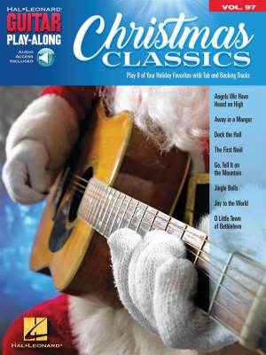 Christmas Classics Guitar Play-Along Volume 97