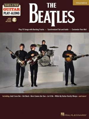 Beatles The : Deluxe Guitar Play-Along Volume 4