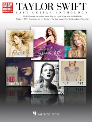 Swift Taylor : Easy Guitar Anthology