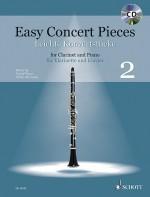 Easy Concert Pieces Pour Clarinette Et Piano #2