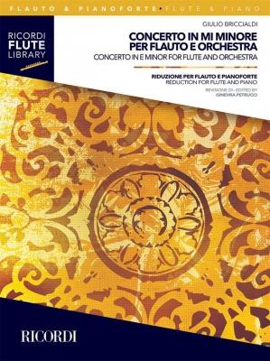 Concerto In E Minor For Flûte And Orchestra