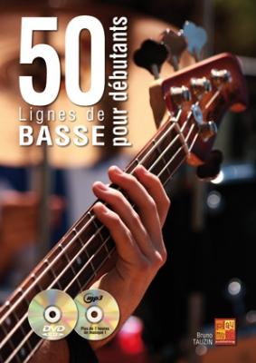 Tauzin Bruno : 50 lignes de basse pour débutants