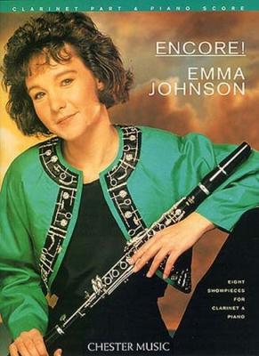 Johnson Emma : Johnson Emma Encore 8 Pieces Clarinet Po