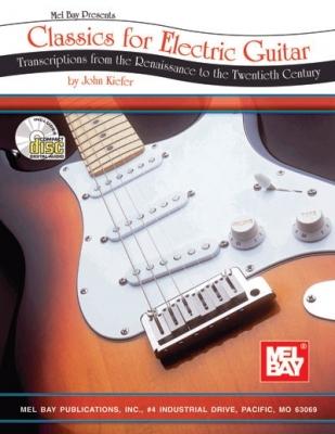 Kiefer John : Classics for Electric Guitar