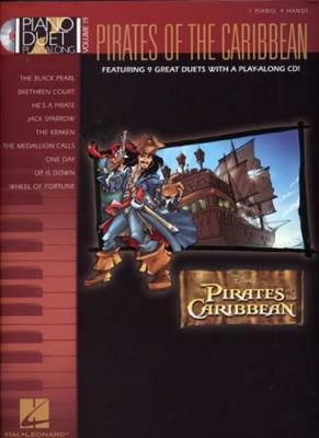 Klose Carol : Piano Duet Play Along Vol.19 Pirates Of The Caribbean Cd