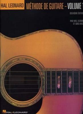 Hal Leonard Méthode De Guitare En Francais Vol.1