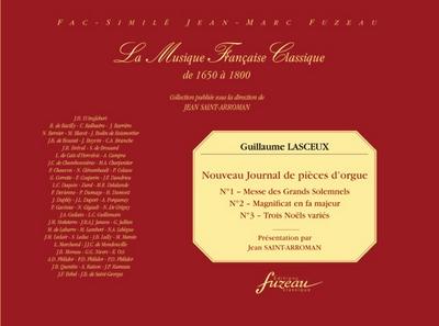 Nouveau Journal De Pièces D'Orgue #1, 2 Et 3