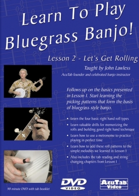 Learn To Play Bluegrass Banjo, Lesson 2