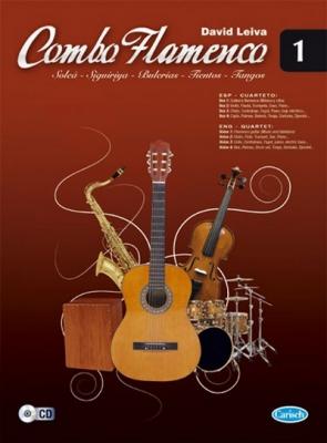 Leiva David : Combo Flamenco Volume 1 (book/CD)