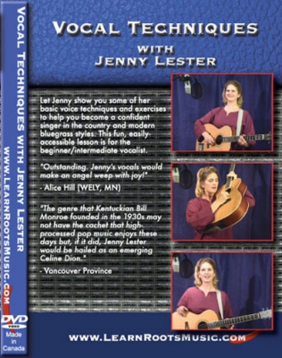 Vocal Techniques With Jenny Lester