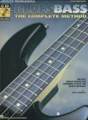 Liebman Jon : Blues Bass Complete Method Tab Cd