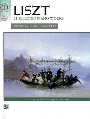 Liszt Franz : 21 SELECTED PIANO WORKS + CD