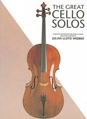 Great Cello Solos Lloyd Webber
