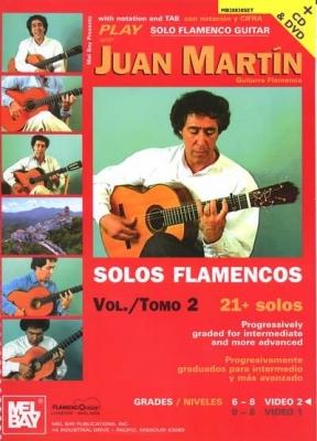 Martin Juan : Play Solo Flamenco Guitar with Juan Martin Vol. 2