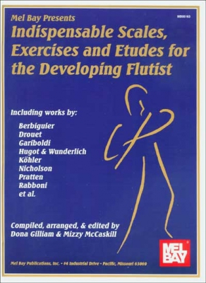 Mc Caskill Mizzy : Indispensable Scales, Exercises and Etudes-Developing Flutist