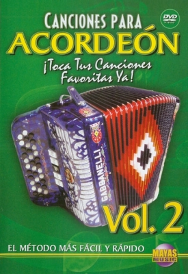 Mendoza Cuco : Canciones Para Acordeon Vol. 2, Spanish Only