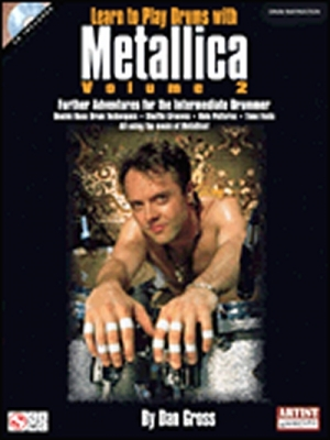 Metallica Learn To Play Drums Vol.2 Cd's