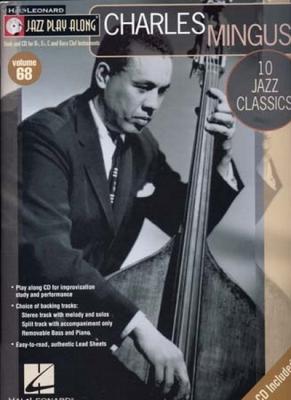 Mingus Charles : Jazz Play Along Vol.68 Charles Mingus Bb, Eb, C Inst. Cd