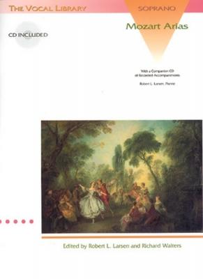 Mozart Wolfgang Amadeus : ARIAS FOR SOPRANO + CD